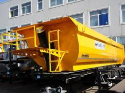 Orthaus. THP030 Самосвальный полуприцеп 30 м3 ССУ 1200 Хардокс, 31 000кг.