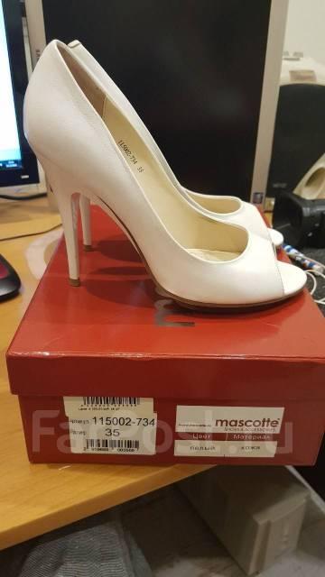 3fb6d9b23 Mascotte туфли женские белые 35 размер нат. кожа б. у. 1 раз - Обувь ...