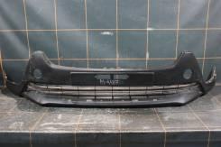 Toyota RAV 4 (2012-15гг) - Бампер передний нижняя часть