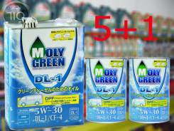 MolyGreen. Вязкость 5W-30, полусинтетическое
