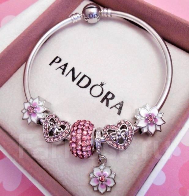 браслет Pandora пандора почти новый в коробке с документами и