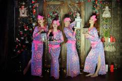 Восточные танцы (танец живота) для девочек 6-8 лет!
