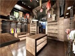 Изготовление торговой мебели для бутиков. кафе. ресторанов.
