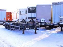 Samro. Полуприцеп-контейнеровоз ST39MH 2005 г/в, 33 200кг.