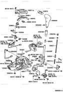 Селектор кпп, кулиса кпп. Toyota Sprinter, AE100, EE101, EE102, EE103, EE104, EE104G, EE106, EE107, EE108, EE108G Toyota Corolla, AE100, AE100G, EE100...