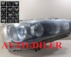 Фара правая Mitsubishi Lancer X 8301A390,8301B260, 8301B348