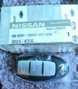 Ключ зажигания, смарт-ключ. Nissan X-Trail, HNT32, HT32, NT32, T32