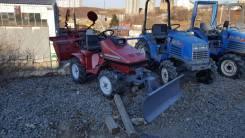 Honda Mighty 13R. Трактор 4wd, фреза, отвал, 11 л.с.