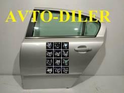 Дверь задняя левая Opel Astra H 13162876 0124072