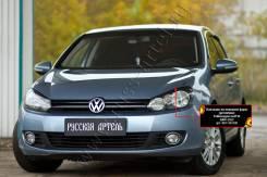 Защита фар прозрачная. Volkswagen Golf, 517, 5K1, 5K5 BGQ, BSE, BSF, CAVD, CAXA, CAYB, CAYC, CBAA, CBAB, CBBB, CBDB, CBDC, CBTA, CBUA, CBZA, CBZB, CCS...