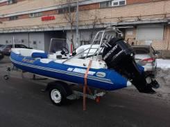 Skyboat SB 520R. 2010 год год, длина 5,20м., двигатель подвесной, 75,00л.с., бензин