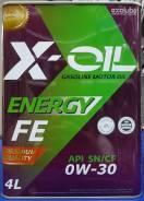 X-Oil. Вязкость 0W-30, синтетическое