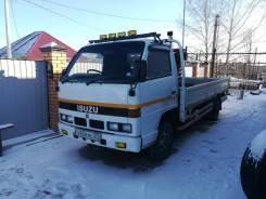 Isuzu Elf. Продается грузовик бортовой манипулятор, 2 800куб. см., 3 000кг., 4x2