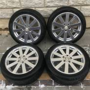"Колёса 245/45R18 Dunlop на дисках Venerdi Cosmic 5x114.3 +55. 7.5x18"" 5x114.30 ET55 ЦО 73,0мм."