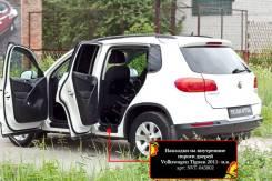 Накладка на порог. Volkswagen Tiguan