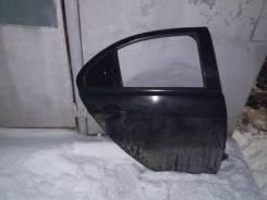 Дверь задняя правая в сборе цвет черный для Mitsubishi Lancer x