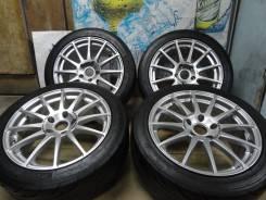 """Продам Редкие Спорт колёса Enkei Tuning+Лето 225/45R17 Toyota, Nissan. 8.0x17"""" 5x114.30 ET48"""