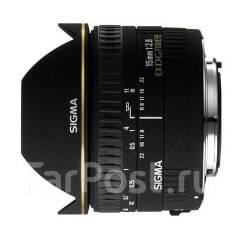 Объектив Sigma AF 15mm f/2.8 EX DG Diagonal Fisheye для Nikon