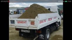 Песок, щебень, галька, цемент, отсев