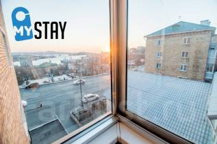 2-комнатная, улица Суханова 11. Центр, 43кв.м. Вид из окна днем