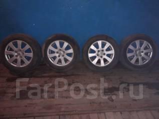 """Продам колеса на литых дисках летние , в отличном состояни. x16"""" 5x100.00"""
