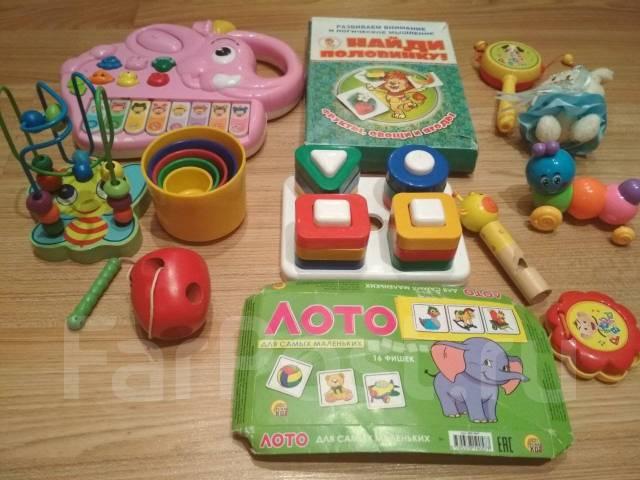 e2e9c2b5e2f7 Лот игрушек для малышей - Игрушки во Владивостоке