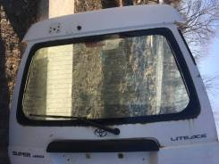 Дверь задняя б/у со родным стеклом Noah