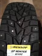 Dunlop SP Winter ICE 02. Зимние, шипованные, 2018 год, без износа, 1 шт