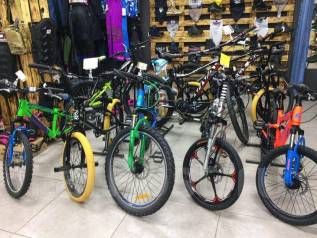 Велосипеды: горные, детские, BMX. Комплектующие, запчасти, защита