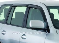 Ветровик на дверь. Toyota Land Cruiser, GRJ200, J200, URJ200, URJ202W, UZJ200, UZJ200W, VDJ200 Lexus LX570 Двигатели: 1GRFE, 1URFE, 1VDFTV, 2UZFE, 3UR...