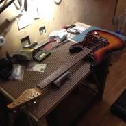 Ремонт гитар и других инструментов.