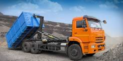 Вывоз мусора контейнерами мультилифт