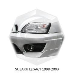 Накладка на фару. Subaru Legacy, BE5, BE9, BH5, BH9, BHC, BHE Двигатели: EJ20, EJ201, EJ25, EJ251, EZ30