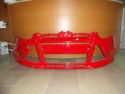 Бампер Ford Focus 3, новый, цвет Colorado Red NDTA (красный) CB8