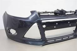 Бампер Ford Focus 3, новый, цвет Midnight Sky BMZE (серый) CB8