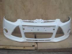 Бампер Ford Focus 3, новый, цвет Frozen White 7VTA (белый) CB8