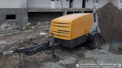 Putzmeister. 740-пневмонагнетатель бетононасос, 2 400куб. см., 100,00м.
