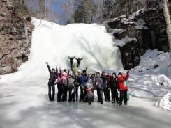 Шкотовский водопад зимой! 20 января