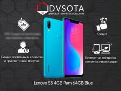 Lenovo S5. Новый, 64 Гб, Синий, 3G, 4G LTE