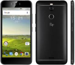 Fly FS520 Selfie 1. Новый, 16 Гб, Черный, 3G, 4G LTE, Dual-SIM, Защищенный
