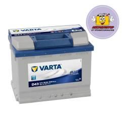 Varta. 60А.ч., Прямая (правое), производство Европа