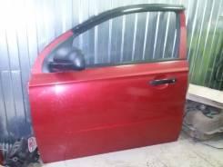 Chevrolet Aveo T250 дверь передняя левая бу номер 96648795