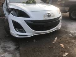 Бампер. Mazda Mazda3 Mazda Axela, BL5FP, BL5FW, BLEAP, BLEAW, BLEFP, BLEFW, BLFFP, BLFFW Двигатели: PEVPS, LFVDS, LFVE, ZYVE