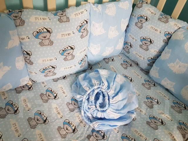3d2a462bac59 Простынь на резинке в детскую кровать - Постельные принадлежности во ...