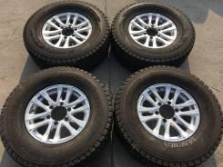 """255/70 R15 Bridgestone DM-Z3 литые диски 6х139.7 (L24-1534). 6.0x15"""" 6x139.70 ET33"""