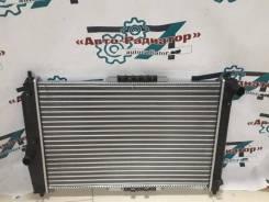 Радиатор охлаждения двигателя. Daewoo Kalos Chevrolet Aveo L14, L44, L91, L95, LBF, LBJ, LDT, LHQ, LMU, LQ5, LV8, LX5, LX6, LXT, LXV, LY4
