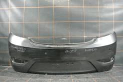 Бампер задний (хэтчбек) - Hyundai Solaris (2010-14гг)