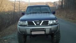 Nissan Safari. автомат, 4wd, 4.2 (160л.с.), дизель, 145тыс. км