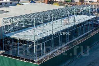 Строительство сооружений из сэндвич-панелей, металлоконструкции