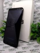 Samsung Galaxy A8 2018. Б/у, 32 Гб, Черный, 4G LTE, Dual-SIM